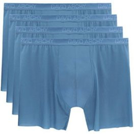 David Archy 4 Pack Men's Fast Dry Ultra Light Free Cutting