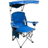 Quik Shade Adjustable Canopy Folding Camp Chair