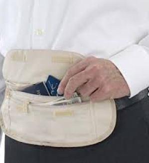 Smooth Trip RFID Waist Money Belt