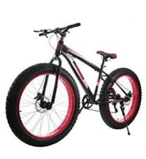 VEVOR Fat Tire Bikes 26 Inch 7 Speed Fat Mountain Bike