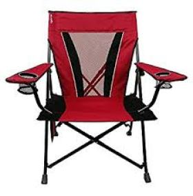 Kijaro Dual Lock Folding Chair (Red Rock Canyon)