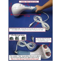 TheraRUB® Percussion Double Head Electric Massager