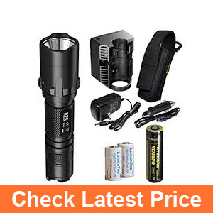 NiteCore-R25-800-Lumens-Rechargeable-LED-Tactical-Police-Flashlight