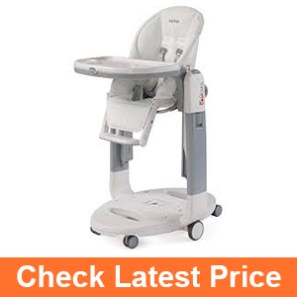 Peg-Perego Tatamia High Chair, White Latte