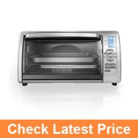 BLACK+DECKER CTO6335S Countertop Convection Toaster Oven