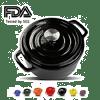 Balichun Cast Iron Dutch Oven