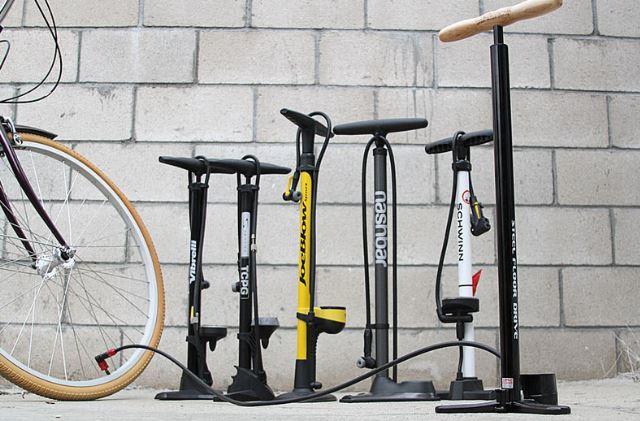how to pump a bike