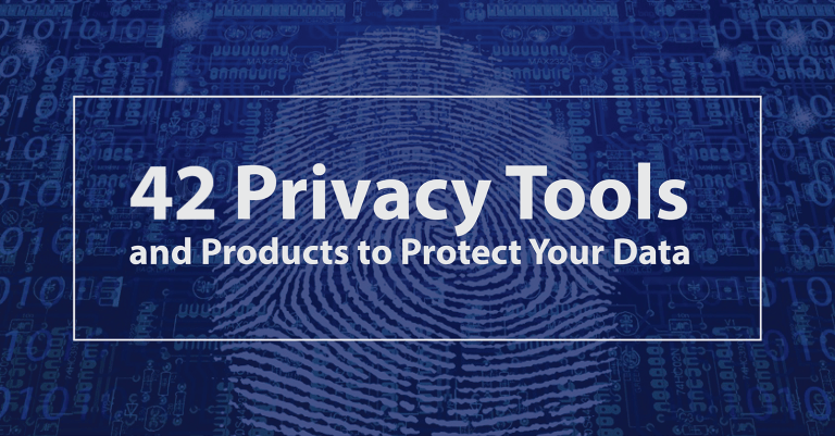 42 privacy tools for 2019