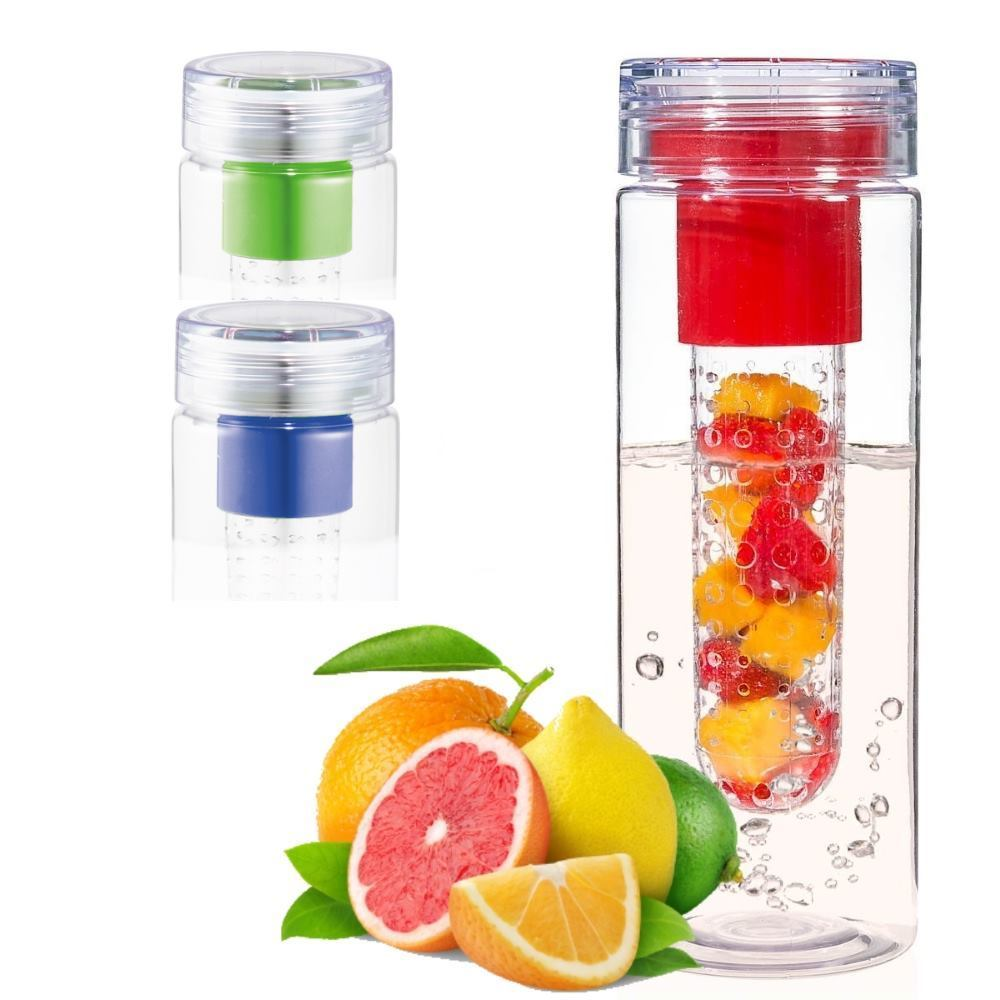 Fruit Fuse - Water Infuser Bottle. - 3 Colors Available