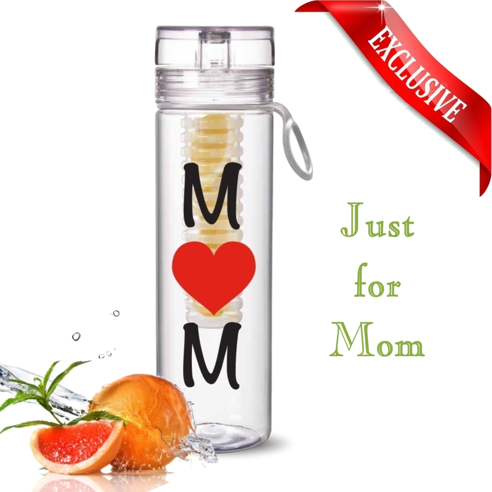 Just For Mom Exclusive 27oz Infuser Bottle Great Gift Idea New Tritan Infusd Water Mothers Day