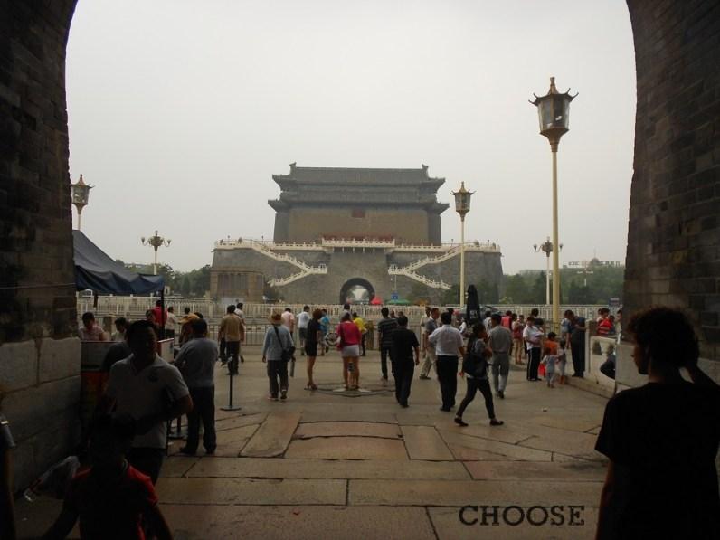 Brama prowadząca na Plac Tiananmen w Pekinie