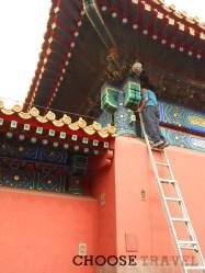 Renowacja zabytków w Pekinie