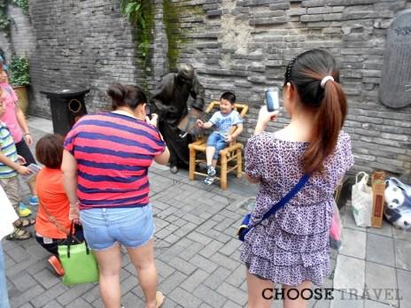 Chińczycy lubią wakacyjne fotografowanie się