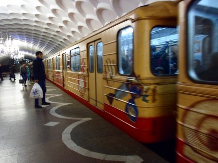 Metro jest czystsze i bardziej zadbane niż choćby nowojorskie.
