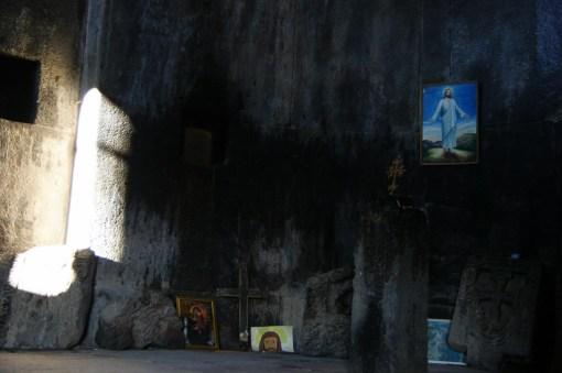 14. Ołtarz(yk) w monastyrze obok twierdzy Hamberd