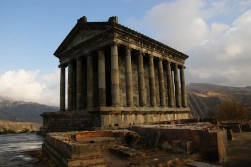 16. Świątynia Garni, czyli pozostałość po czasach pogańskich