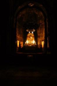 4. Ołtarz w klasztorze Geghard