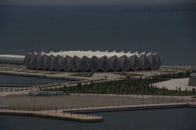 Baku: Krzyształowa Hala