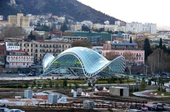 Most Pokoju w Tbilisi (Gruzja)
