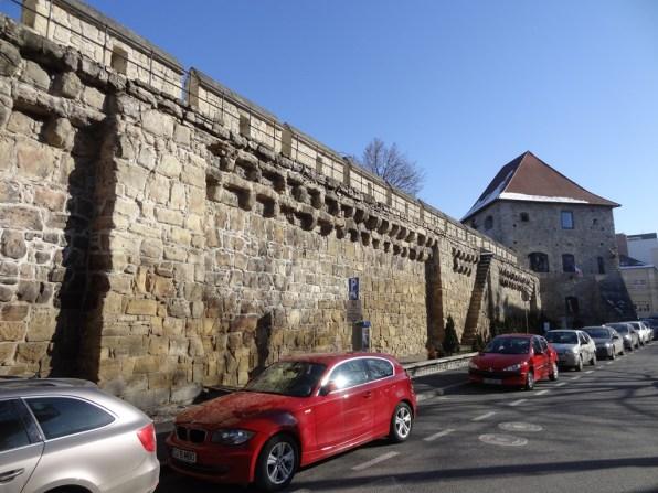 Resztki murów obronnych