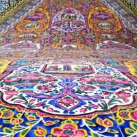 Różowy Meczet w Szirazie, Iran