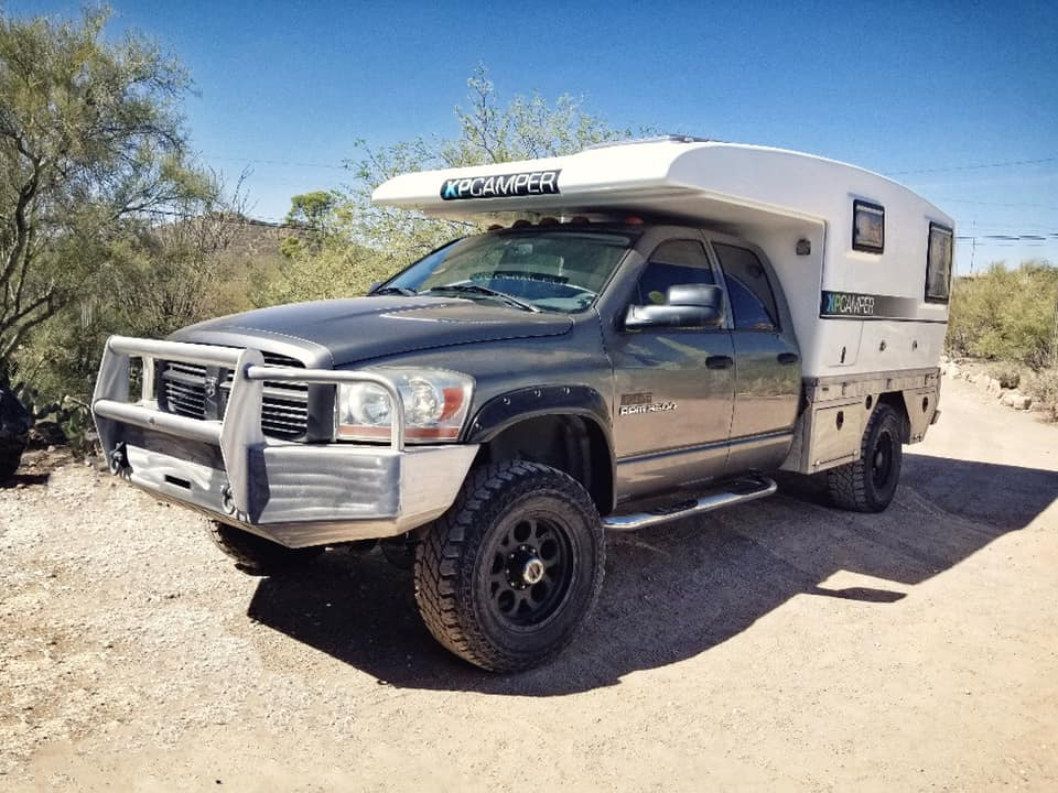 xpcamper and Dodge Ram 3500