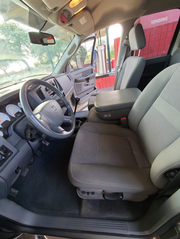 truck interior front