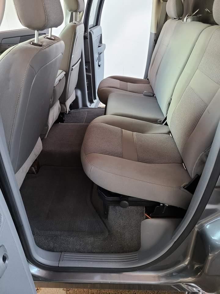 truck interior rear