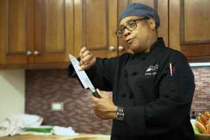 Image result for chef with a knife