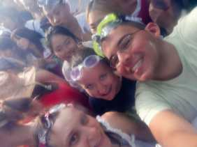 Me, Jaime, and Ali at La Tomatina.