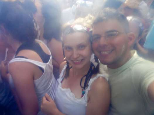 Me and Jaime at La Tomatina.
