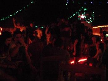 Partying in Vang Vieng, Laos.