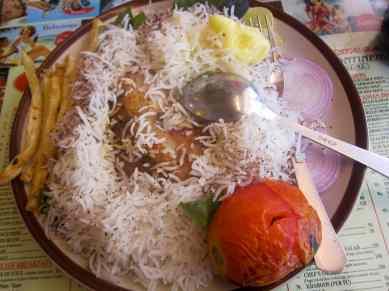 Chelo Murg in Mumbai, India.