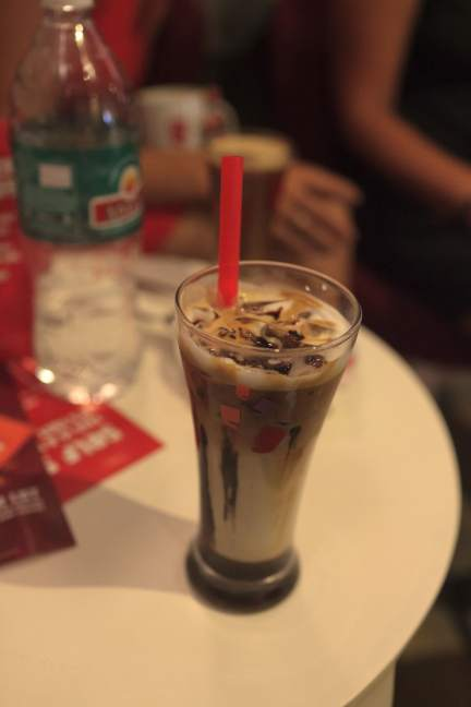 Mochachillo from Cafe Coffee Day in Palolem, Goa, India.