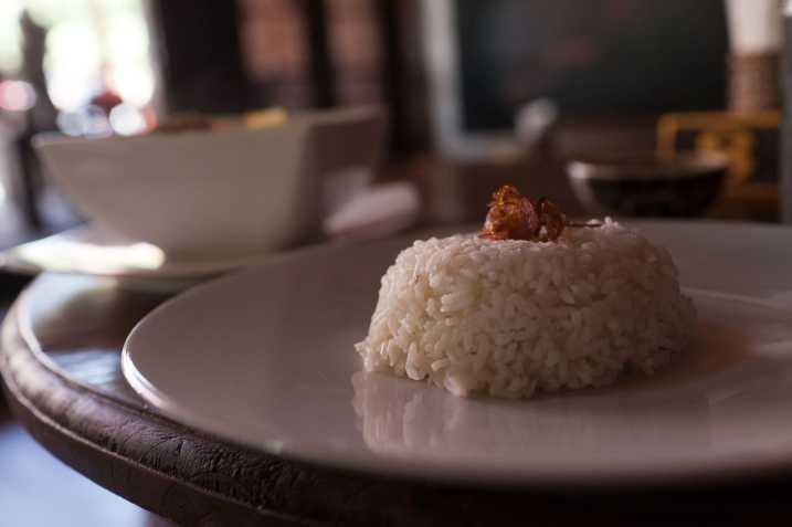 Rice in Sanur, Bali.