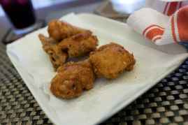 Chicken in Manila, Philippines.
