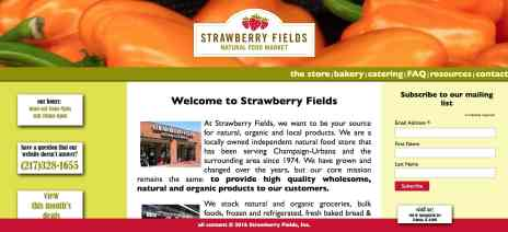 Freelance web editor for Strawberry Fields.