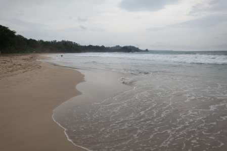 Red Frog Beach in Bocas del Toro, Panama.