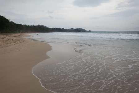 Red Frog Beach in Bocas del Toro, Panama.