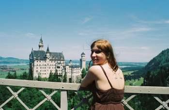A fairy finds her castle – Neuschwanstein Castle in Munich, Germany