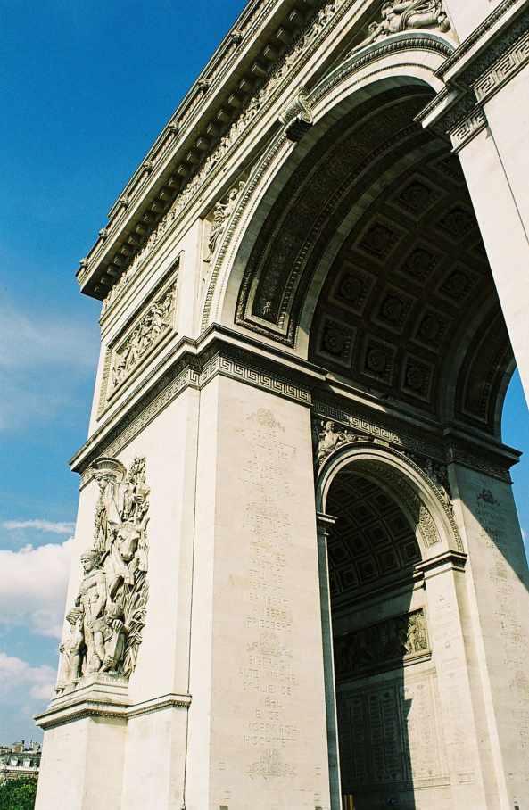 Arc de Triumph in Paris, France