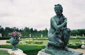 Gardens of Versailles in Paris, France
