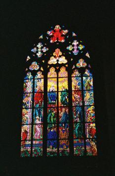 Inside the church at Prague Castle in Prague, Czech Republic