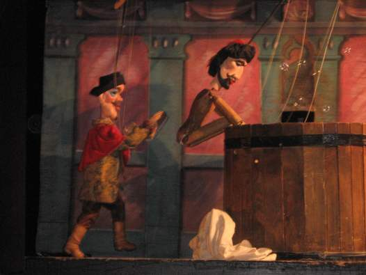Don Giovanni – with (naked) puppets - in Prague, Czech Republic