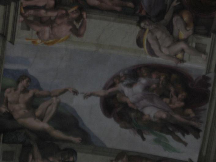 Sistene Chapel in Rome, Italy