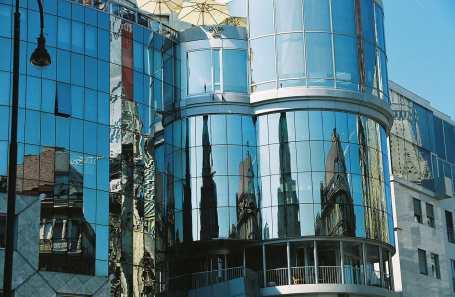 Reflections in Vienna, Austria