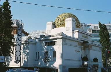 Secession Building in Vienna, Austria