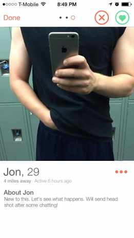 "The Men I Meet on Tinder - Jon wants to show me his ""head."""