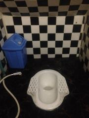Squat toilets are hard when you're drunk.