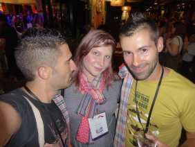 Me and the Nomadic Boys (I stile the photo from them).